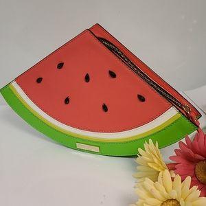 NWOT Kate Spade watermelon clutch / purse